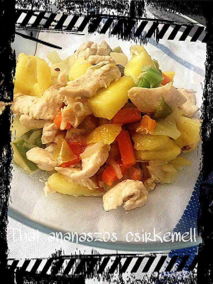 Thai ananászos csirke