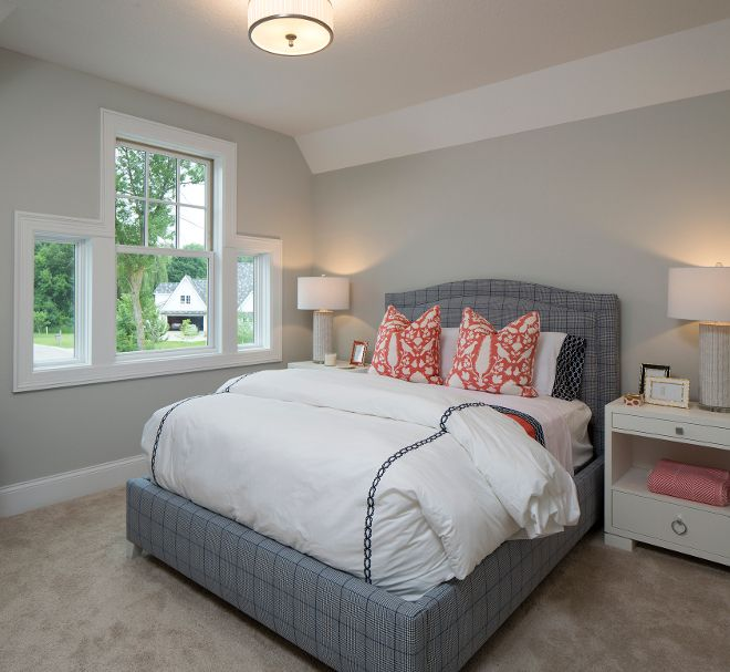 Bedroom With Gray Bed Bedroom Lighting Tips And Ideas Bedroom Color Blue Ideas Bedroom Decor Rustic: 1000+ Images About Home Bunch Interiors Blog On Pinterest