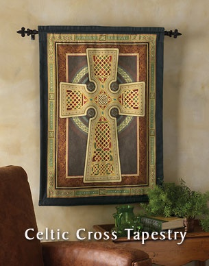 Celtic wall hanging from Monastery Icons