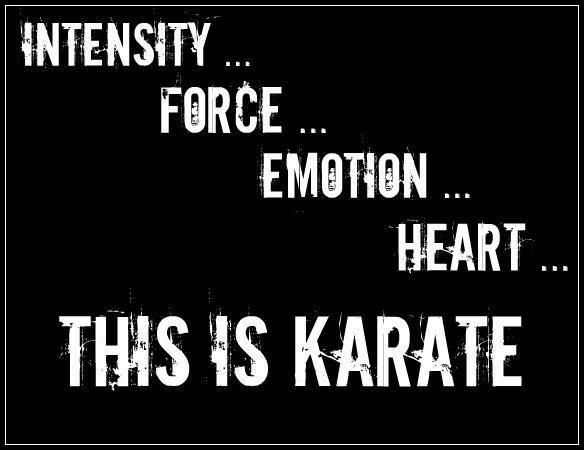 Karate's fundamentals apply not only to martial arts but to everyday life as well.  #RRKA #Inspire