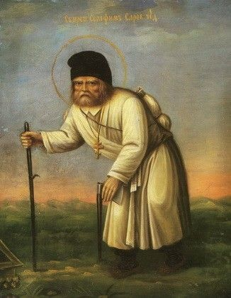 St Seraphim of Sarov, 4x5, $3.00, Catalog of St. Elisabeth Convent…