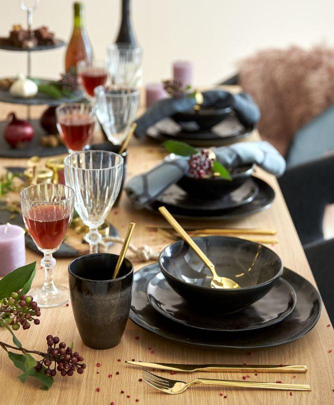 NJORD, TVIS & DIAMONDS table setting