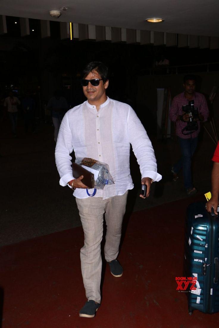 Mumbai: Vivek Oberoi seen at airport - Social News XYZ