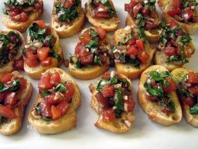 Bruschetta is a traditional Italian appetizer and Olive Garden does it well but you can easily do it as good, if not better, at home with this recipe.