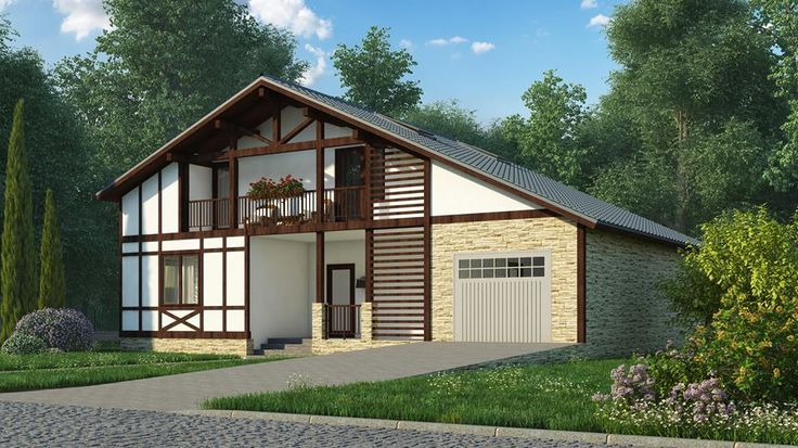 Two-storey house 186 sq.m  #buindilg #design #architecture #canadianhouse #vacationhome #countryhouse #cottage