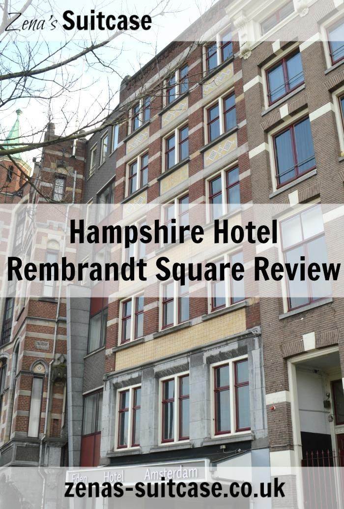 Review: Hampshire Hotel Rembrandt Square Amsterdam