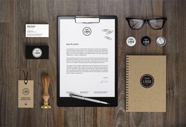20 Free Branding And Identity Mockup Templates Branding Identity Mockup Corporate Identity Mockup Branding Mockups