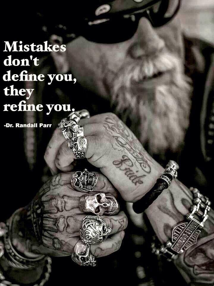 Mistakes don't define you..they refine you...L.Loe