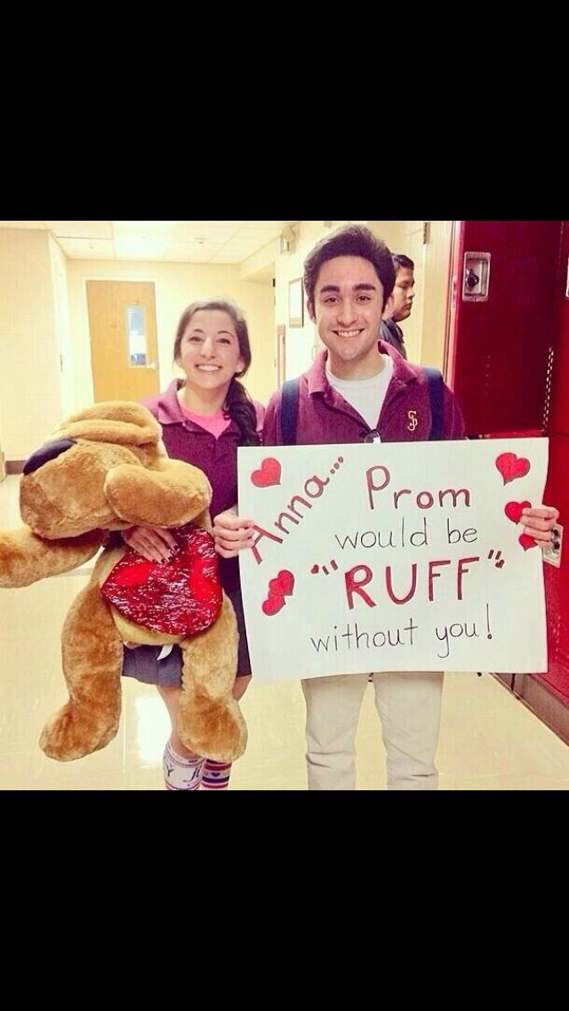Love this.. Cutest way to ask a girl to prom