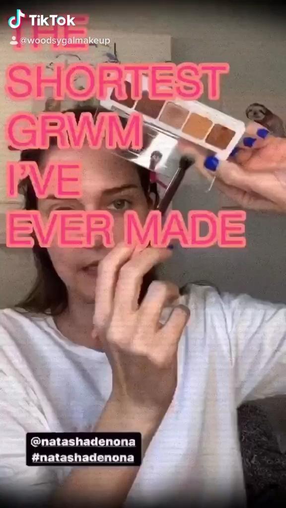 Shortest Grwm Ever Video In 2020 Eye Makeup Tutorial Cruelty Free Makeup Makeup Routine