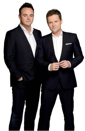 And Ant Declan Donnelly | ... shows from L to R: Ant McPartlin, Declan Donnelly. Image credit: ITV