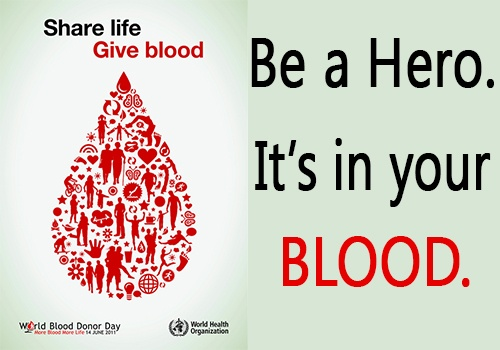 Give the Gift of Life: Donate Blood https://www.youtube.com/watch?v=opariZWbuCY Dialhealth supports the WHO campaign to thank all the blood donors on the 10th anniversary of Bood Donor Day.  Be a Hero. It's in your blood.