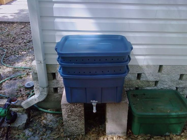 Wiggler Hilton: Worm composting