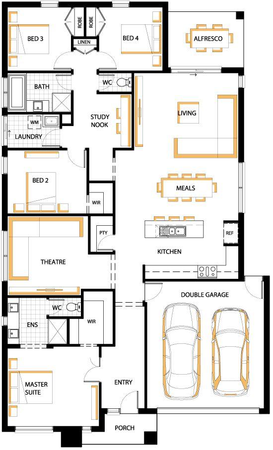 Carlisle Marlow 25 floorplan