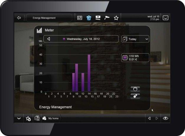 Building Management System – system zarządzania budynkiem by Hager.  Może na przykład na podstawie temperatury powietrza zwiększyć moc ogrzewania w tylko jednym pomieszczeniu. Innym ciekawym zastosowaniem jest symulacja obecności domowników – gaszenie i zapalanie światła w konkretnych pomieszczeniach, włączanie urządzeń RTV itp. Ten system może także reagować na ewentualne próby włamania, automatycznie wzywając policję.