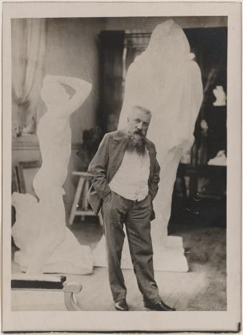 PORTRAIT DE RODIN DANS SON ATELIER - 1899