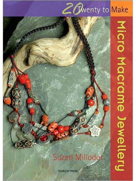 66 best books on jewelry macrame beads wire metal images on twenty to make micro macrame jewellery ebook interweave fandeluxe Images