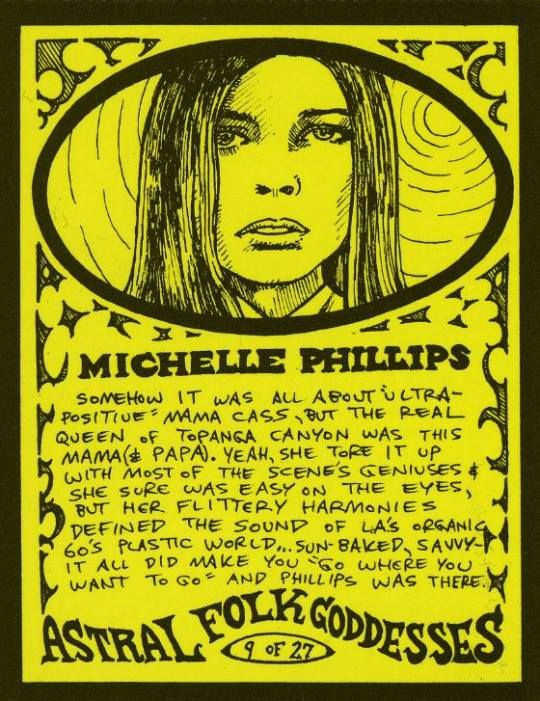 Astral Folk Goddess Michelle Phillips!