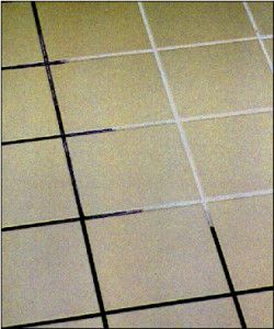 how to clean tile floors in kitchen clean grout kitchen tiles and grout on 9359