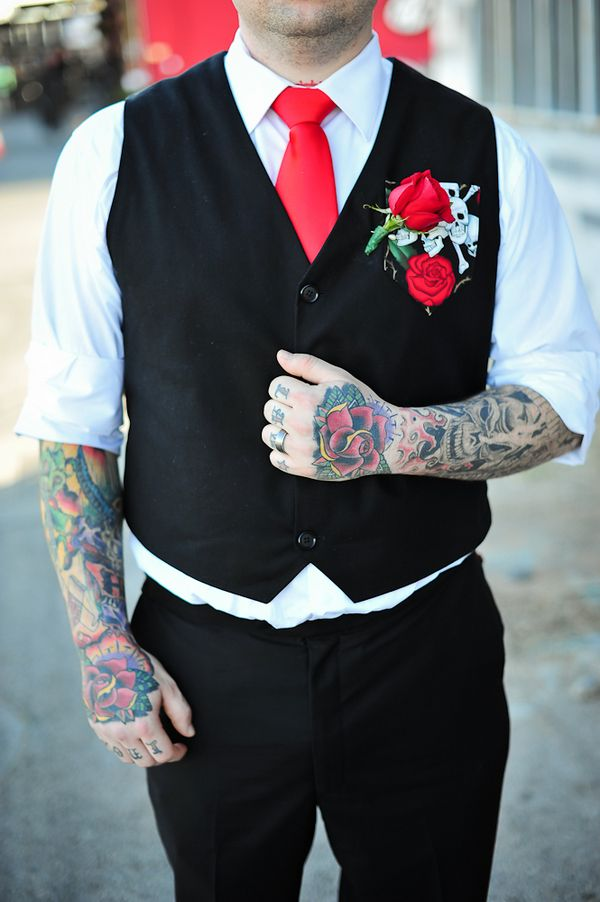 """Incredible groom's style 