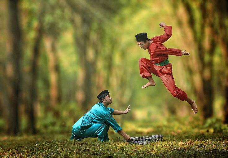 Простая жизнь индонезийской деревушки на фотографиях Германа Дамара