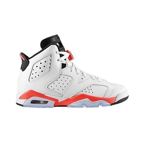 4d6d5172703a5e Jordan Retro 6 Boys Grade School ( 120) ❤ liked on Polyvore featuring shoes