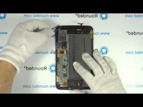 How To Repair Samsung Galaxy Tab 3 (7.0) WiFi SM-T210, disassembly manually