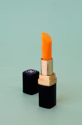 Chanel carrot lipstick