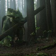 Pete's Dragon. I wish they made it before Mickey Rooney died... It would be awesome if he played in it...