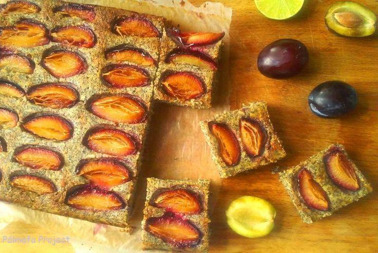 Mákos túrós szilvás süti – Pálmafa Project