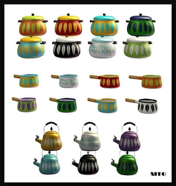 Sims 2   Fiesta Kitchen Deco Recolors   Downloads   BPS Community