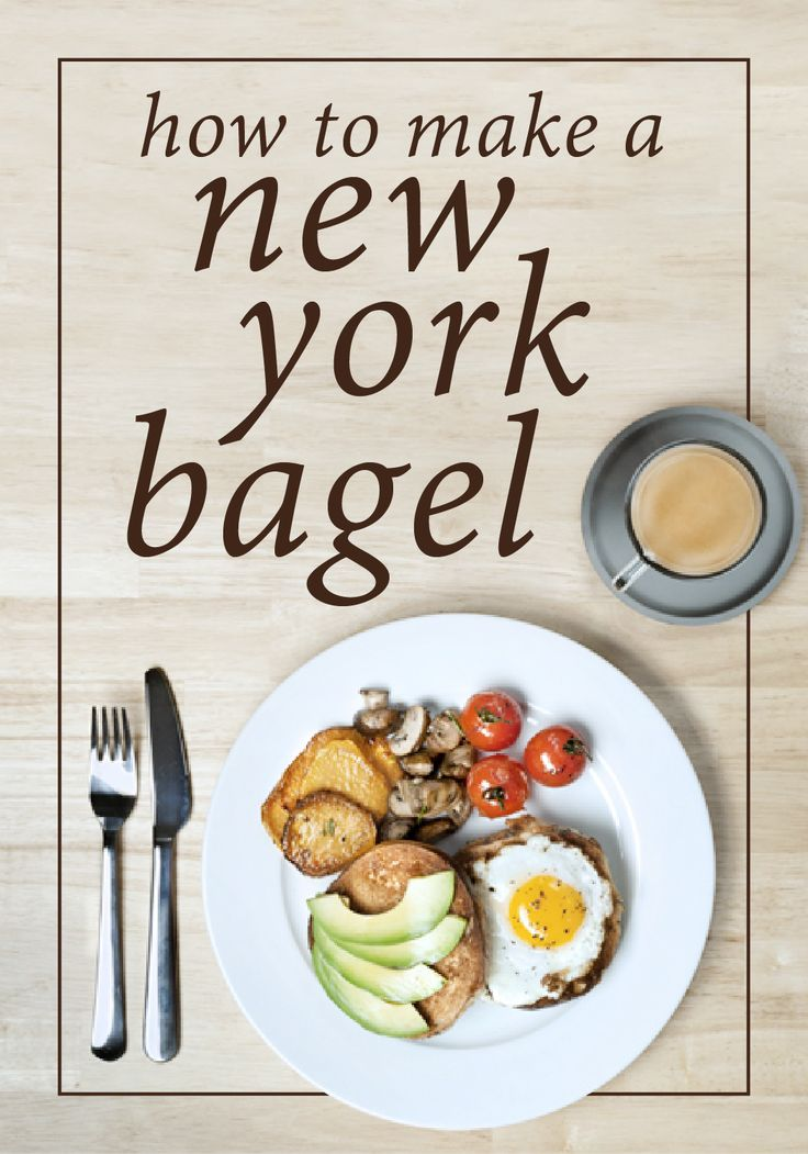 A dense, chewy New York Bagel is one meal that can be enjoyed at any time of the day. Top a poppyseed bagel with a fried egg, sliced avocado, fresh tomatoes, diced mushrooms, sweet potatoes, olive oil, lemon juice, and a sprig of rosemary as a garnish. This tasty breakfast sandwich will keep you satisfied all day long.