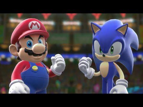 Mario & Sonic op de Olympische Spelen: Rio 2016 - Openingsfilmpje (Wii U) - YouTube
