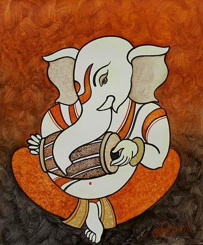 Musical Ganesha