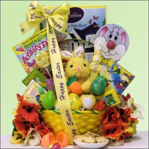 53 best easter basket ideas images on pinterest easter baskets hoppin easter fun childrens easter basket boy or girl ages 3 to 5 years old negle Gallery