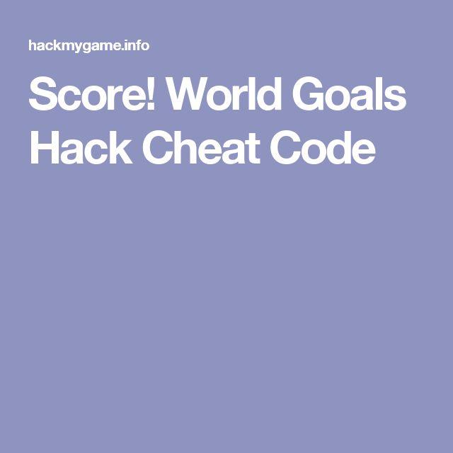 Score! World Goals Hack Cheat Code