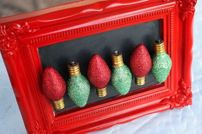 Christmas light magnets