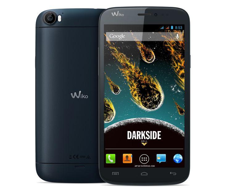 Wiko Darkside - Günstigstes Quadcore-Smartphone mit Dual-Sim.