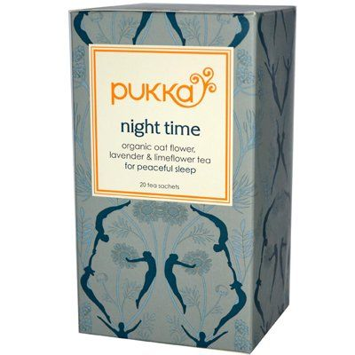 Night Time Tea | Pukka Herbal Teas | A delicious, organic herbal tea to help you unwind and get a restful night's sleep. (Amazon.co.uk Affiliate Link)