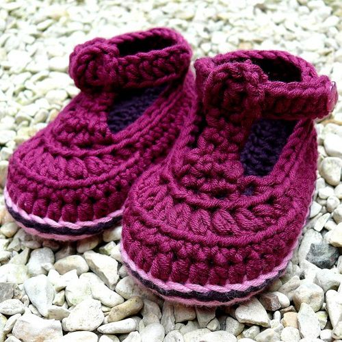 1000+ images about Crochet Baby Booties on Pinterest ...