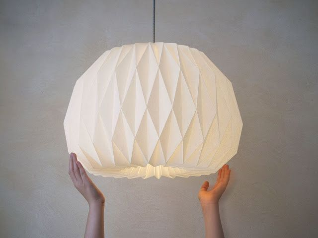 How to make Origami Lampshade