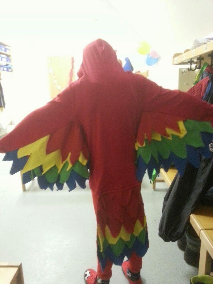 Papageienkostüm