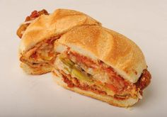 Zippy Parmesan Veal Sandwich