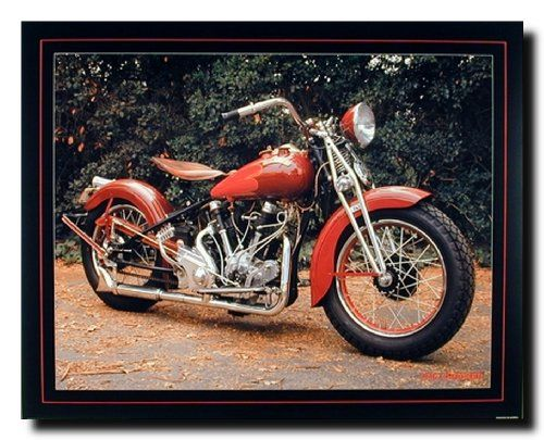 Lovely! Complement your home decor with this Crocker Buck Lovell vintage motorcycle art print poster. This elegant wall poster adds an instant option to enhance the visual appeal of the entire house. Hurry up! Buy this wonderful piece of art for its durable quality with high degree of color accuracy which ensures protect your image for years to come.