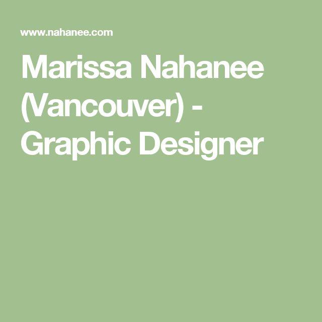 Marissa Nahanee (Vancouver) - Graphic Designer