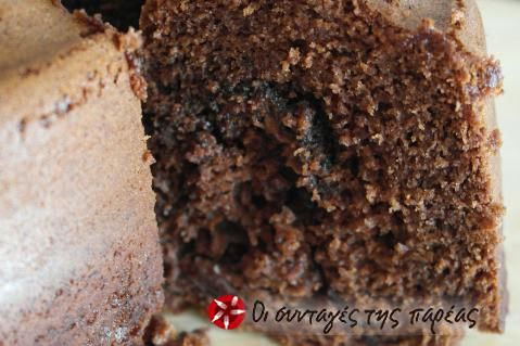 Κέικ με κακάο, κανέλα και nutella #sintagespareas