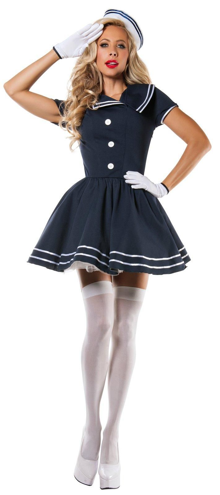 sailor captain costume for adults from costumeexpresscom sailor halloween costumesadult - Halloween Costumes Without Dressing Up