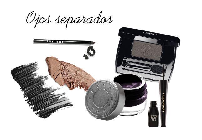 Maquillar los ojos separados paso a paso #maquillaje #maquillajedeojos #trucosdemaquillaje