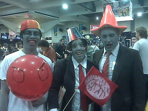 Plants vs. Zombies cosplay at Comic-Con
