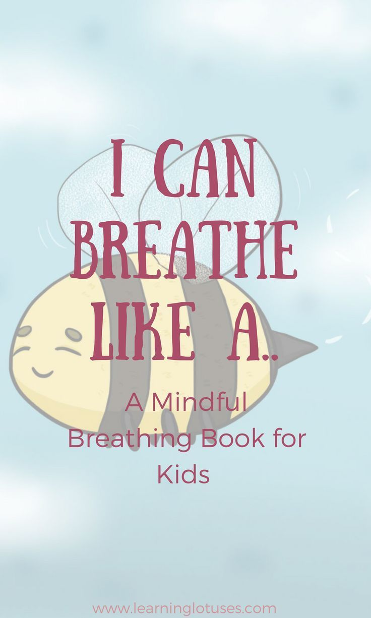 "Take your kids on a guided relaxation with ""I Can Breathe Like A...A Mindful Book for Kids!"" This book encourages relaxation and helps kids to manage their emotions by using fun and engaging characters to guide them through various breathing techniques! E"